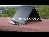 Power Book Solar Charger, Charges As Fast As A Wall Socket
