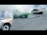Канев Autoslalom + burnout Lada 2105, Lada VFTS, BMW E30