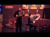 Paul Dukas - Villanelle for horn and piano