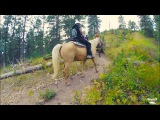 Papa Roach horseback riding in Black Hills South Dakota