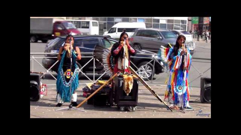 Индейцы на невских берегах Часть 1 2013