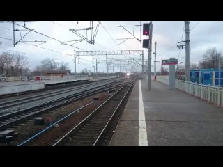 [RZD] Станция Вышний-Волочёк.Сапсан:Санкт-Петербург-Москва.