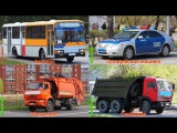 Мультик про машинки Транспорт Спецтехника Строительная техника
