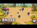 Beasts Battle 2 (dev ep26) - Встреча с медведями (Corona SDK)