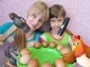Развлечения для детей Челлендж Яичный расколбас