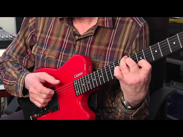 Allan Holdsworth- talks about his Carvin Guitars Headless signature model