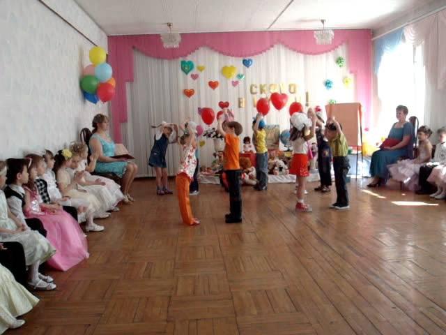 Детский танец - сюрприз от старших на выпускном. детский танец