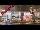 Небольшая шоколадная фабрика и производство пончиков Krispy kreme