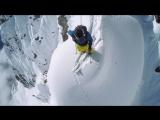 Безбашенный лыжник