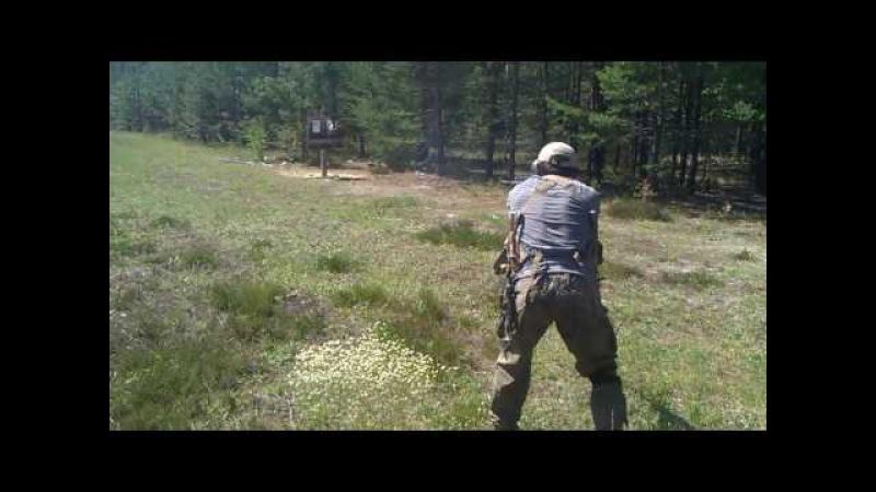 Стрельба из Сайги 20к - 1