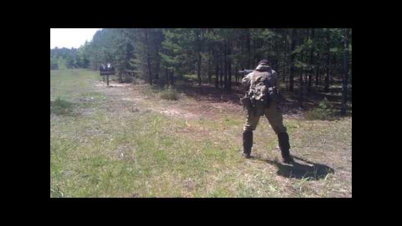 Стрельба из Сайги 20к - 2