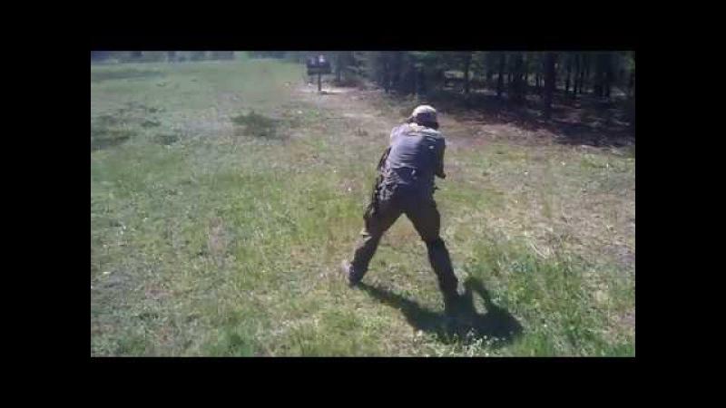Стрельба из Сайги 20к - 3