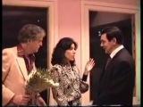 Встреча М.Магомаева с дочерью Марио Ланца - Элисой и ее супругом.