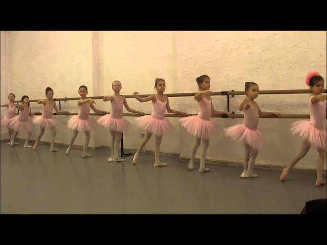 Открытый урок по классическому балету Танцы для детей