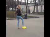 Kill ball #funny #girl #singing #aha #singingvine #girldance #fashion