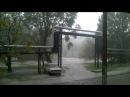Ливень в г Днепропетровск 10 05 2016 г Тополь течет