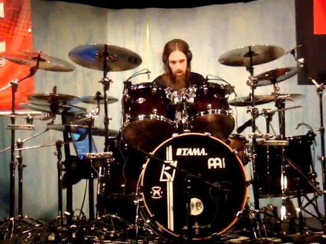 Dirk Verbeuren Drums - ABORTED - A Cadaverous Dissertation 11/03 2010 Meinl Tama drumclinic