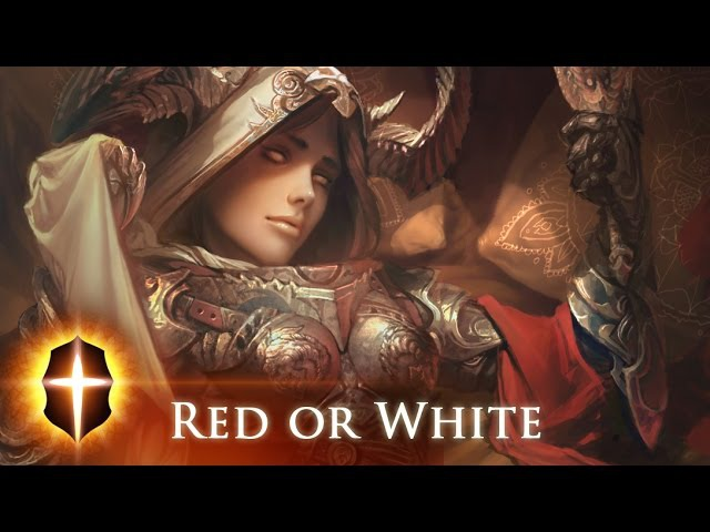 Red or White - Original SpeedPainting by TAMPLIER 2016
