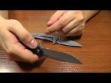 Нож Kershaw 3410 Chill. Недорогой флиппер.