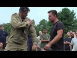 Systema Russian Martial Art by Vladimir Vasiliev  Functioal Strikes  a lesson from camp