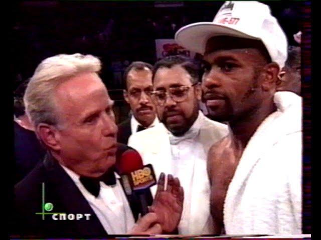Live Вечер бокса Рой Джонс младший-Вирджил Хилл(Вл.Гендлин старший)Roy Jones Jr-Virgil Hill