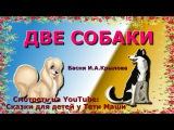 Басня Крылова Две собаки. Сказки для детей читает Тетя Маша