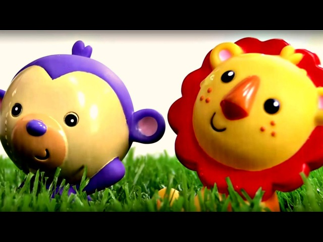 Vidéo de Léo et Mila pour les enfants: une pelouse magique. Dessiner une fleur 🌼 🌻 🌺