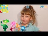 ✔ Фиксики и девочка Ника играют с гоночными машинками / Видео для детей / Fixiki ✔