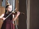 Lullaby Чайковский Колыбельная Lidia Stupakova Koneva 8 y o