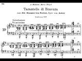 Cziffra plays LisztAuber - Tarantella di Bravura (Audio + Sheet Music)