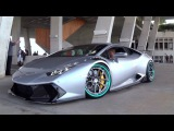 Lamborghini Huracan Novara by Vorsteiner on HRE wheels one of the most heavily tricked out Lamos