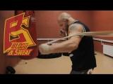 Упражнение на скорость ударов руками. Boxing. Hand speed & rate.