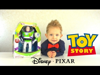 DanyaTV - Disney Toy Story Buzz Lightyear Unboxing and Review. Баз Лайтер распаковка и обзор игрушки
