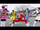 Super Sentai / Сюрикэнный Отряд — Нининджеры / Shuriken Sentai Ninninger 03, озвучка DJ KIRO