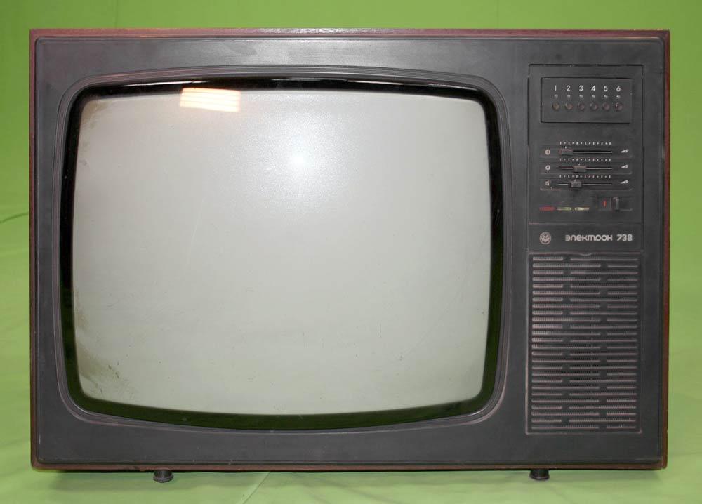 модели советских телевизоров