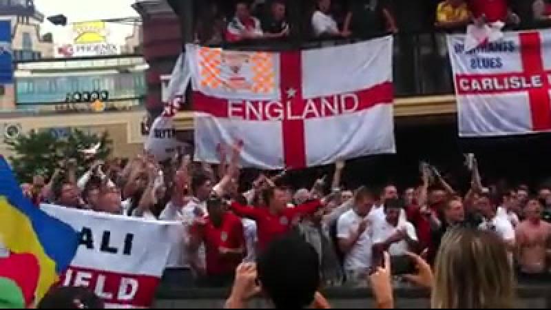 Євро 2012 Швеція - Англія