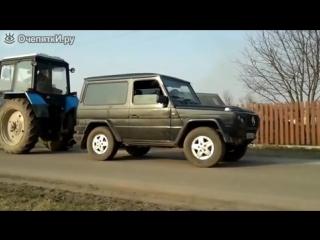 Гелендваген против Белоруса