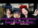 Pro Makeup Tutorial - First Date Look (ft. Kitcha+Endigo)