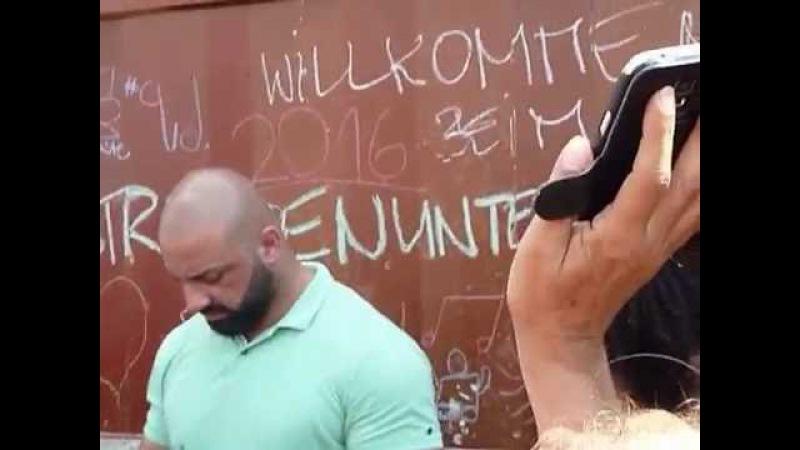 HD Xavier Naidoo Söhne Mannheims Holzminden Kicken mit Stars Benefizveranstaltung Teil 2