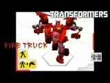 Мультики про машинки. Собираем трансформера пожарного. Fire truck Transformer