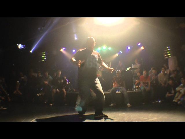 RICKY from 沖縄 EPOCH Prankstar JUDGE DEMO / Groove!! vol.3 DANCE BATTLE