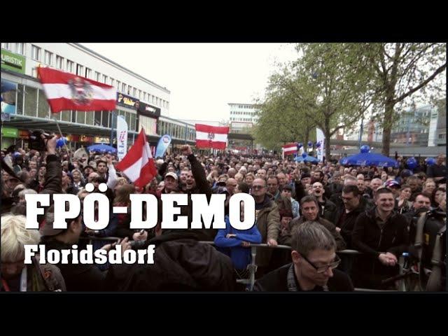 FPÖ-DEMO in Wien-Floridsdorf | 18.04.2016