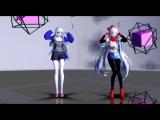 MMD x Undertale Drop Pop Candy (test models + DL)