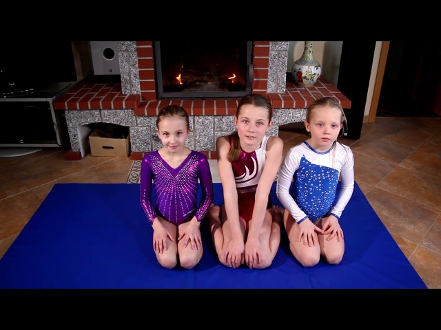 Наш гимнастический Спрайт челлендж ! Chug a Jug Gymnastics Challenge !