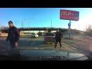 29 12 2015 Два черножопых быдло авто хама на к724ее 150rus нюхнули газку Мгновенная карма