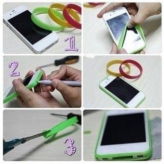 Раскрасить чехол для телефона своими руками