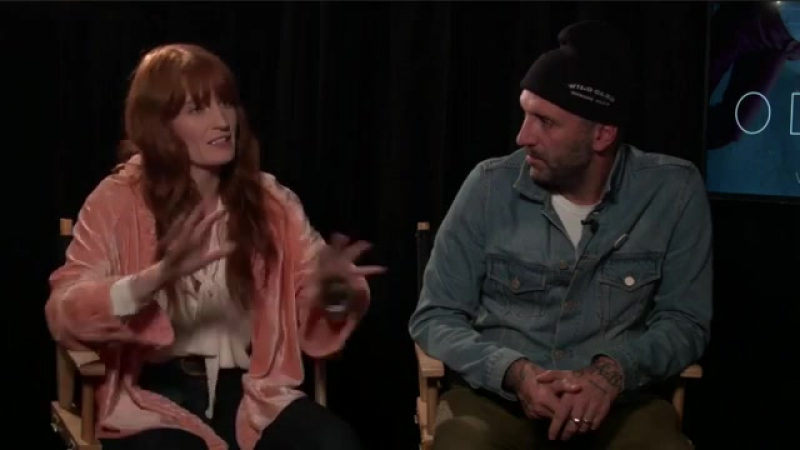 The Odyssey QA with Florence Welch Vincent Haycock