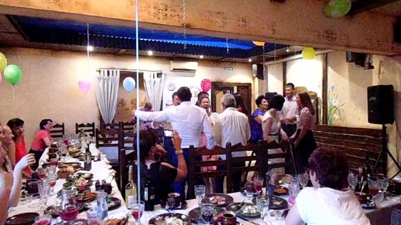 Юбилей с ведущей Ириной Токмяниной 18 июня 2016 в кафе Тары Бары Жаровня