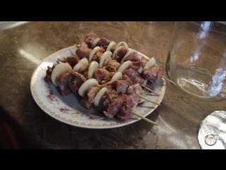 Сочный шашлык из свинины в банке. Домашний рецепт в духовке.