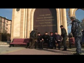 Побывал на аллее памяти Первого Президента ЧР, Героя России Ахмат-Хаджи Кадырова в Магасе